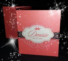 Custom Princess Invitations