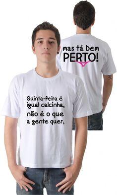 Dica #palcofashion #Camiseta - Quinta-feira #moda #fashion
