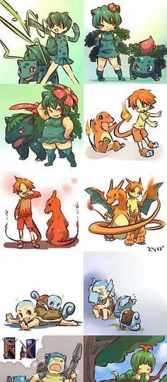 What Pokemon Would Look Like If They Were Humans