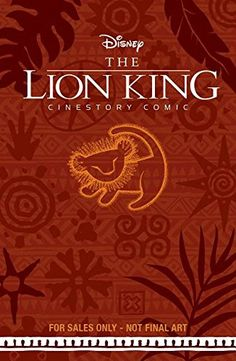Disney's The Lion King Cinestory Comic