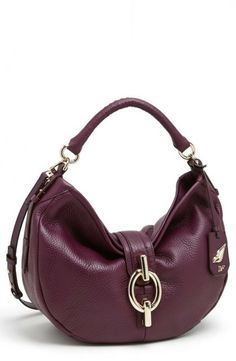 Diane von Furstenberg  Sutra  Leather Hobo Viola. Julie Sloan · Bag Lady aa670b15630b1