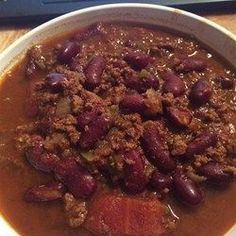 Easy Pressure Cooker Chili - for Instant Pot, cook on Meat/stew setting (will be 35 min)