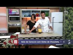 Mulheres - Bolo de Cenoura com Gotas de Chocolate (15/09/14) - YouTube
