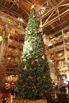 Disney's Wilderness Lodge Resort @ Christmastime 122513 | Flickr - Photo Sharing!