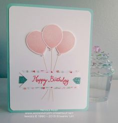 Balloon Celebration (Stampin' Up! 2016 Occasions Catalogue Sneak Peak) ~ Nicole Keef