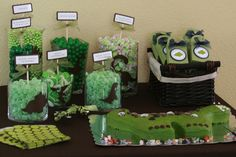 """Photo 1 of 14: Dinosaurs / Baby Shower/Sip & See """"Roar Means """"I Love You"""" in Dinosaur"""" 
