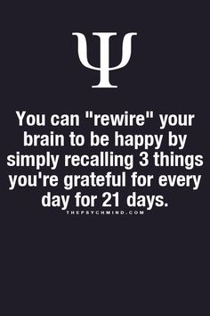 3 things #gratitude #quotes There's a free app for that called HappyFeed. // This pin was curated by Lodestar Astrology. // Follow for more. // https://www.facebook.com/LodestarAstro/