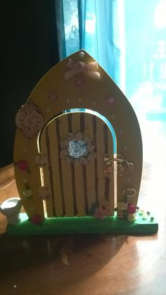 fairy door by shineycrafts63 on Etsy