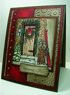 Home for Christmas - Stampin Up