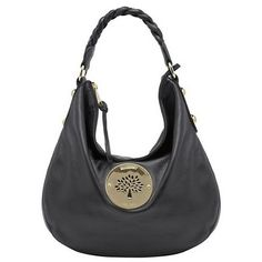 Mulberry Daria Medium Hobo Shoulder Bag Black 112