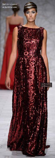 Sabrina Persechino Couture Fall 2015-16