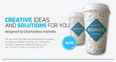 Mobile Website design and Application Development by Disenoideas Marbella