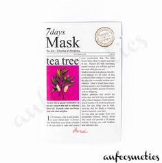 Ariul 7 days mask tea tree Tea Tree, Glowing Skin, Your Skin, Moisturizer, Skin Care, Cosmetics, Day, Collection, Moisturiser