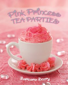 Pink Princess Tea Parties - buy dollar store cups for kids to decorate??