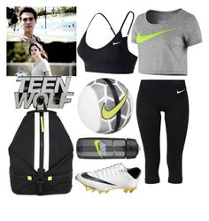 """Teen Wolf -Hayden Romero inspired outfit-5s7e"" by elisehart ❤ liked on Polyvore featuring NIKE and Rebecca Minkoff"