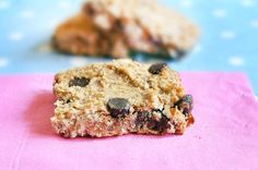 Hundreds of readers have fallen in love with these chocolate chip chickpea blondies... Everyone is always SHOCKED to find out they're so healthy!