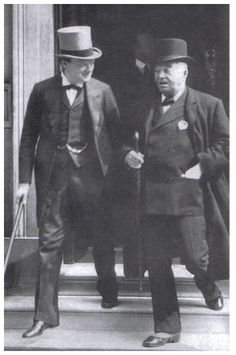 WWI-First Lord of the Admiralty Winston Churchill and First Sea Lord Fisher, World War One, First World, Creepy History, Great Leaders, Winston Churchill, Interesting History, Soviet Union, Foreign Policy, Wwii