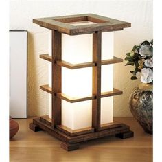 Buy Downloadable Woodworking Project Plan to Build Warm-glow Accent Lamp at Woodcraft.com