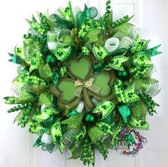 St.paddy's wreath