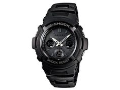 Casio G-Shock Basic Series AWG-M100BC  5 daily alarms, Auto-calendar, Water Resistant, World Time, LED Light, Solar Power, Stop Watch, Countdown timer, Mineral Glass, Radio Controlled. #casio #ghsock #basic #wristwatch #japanese #mineralglass #timer #buyonline #fromjapan