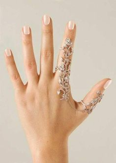 Amazingly Gorgeous Flower Crystal Stackable Rings