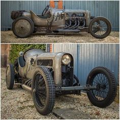 Richard Scaldwell's 1908/1919 GN with a JAP V8 aero engine