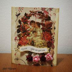 Käsitöitä flamencohame hulmuten * Siiri Viljanen - ystävänpäivä valetine's day