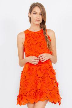 Tangerine Dream Dress