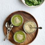 Finishing off a crazy week with some green smoothies. Happy Friday!
