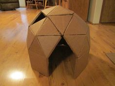 How To Build A Diy Cat Cave From Cardboard