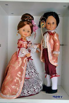 Las Nancys de Mery: La Habitación de mis muñecas Nancy Doll, American Girl Clothes, Cute Dolls, Marie Antoinette, Vintage Dolls, Holidays And Events, Doll Clothes, Sewing Patterns, Girl Outfits