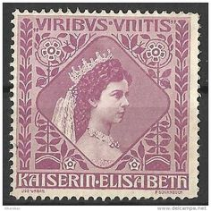 Austria stamp - Empress Kaiserin Elizabeth