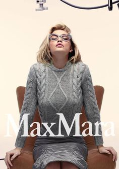 Джиджи Хадид в рекламе Max Mara Fashion