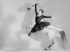 Each time an equestrianne rides she reaches for her inner ballerina while searching for her soul... #Jupinkle