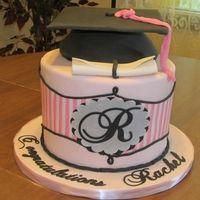 Rachel's Grad Cake