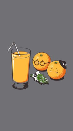 I will never look at a glass of orange juice the same again