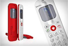 SpareOne Plus Emergency Mobile Phone - The world's only emergency mobile phone powered by a single AA Battery. Includes an Energizer Lithium Ion AA battery that keeps its charge for up to 15 years. GetdatGadget.com