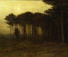 Charles Warren Eaton, The Strip of Pines, 1908, Montclair Art Museum
