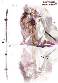 Tags: Anime, Fanart, Rin (InuYasha), InuYasha, Sesshoumaru y Rin. M Anime, Fanarts Anime, I Love Anime, Anime Guys, Rin And Sesshomaru, Inuyasha And Sesshomaru, Inuyasha Love, Ghibli, Manga Couples