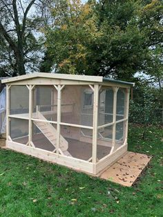 Pet Pigs, Guinea Pigs, Pigeon Cage, Pig Ideas, Bunny Hutch, Play Gym, Cat Enclosure, Outdoor Cats, Cat Room