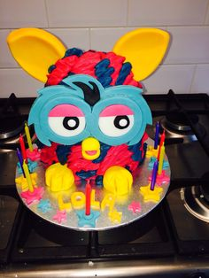 Another furby boom cake!