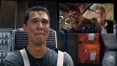 Star Wars 7:  Matthew McConaughey guarda il nuovo trailer (video parodia)