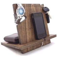 Our docking stations are compatible with nearly all cell phones and make a great anniversary or birthday gift for men. Handcrafted in the USA!