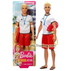 Year 2018 Barbie Career You Can Be Anything Series 12 Inch Doll - Cauc – JNL Trading You Can Be Anything, Barbie Collection, Lifeguard, Lego, Career, Dolls, Board, Playmobil, Legos
