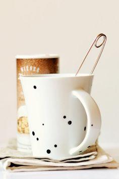 Pimp your tea mug...  Foto: Masha/Ornamelle