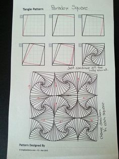 Judy's Zentangle Creations: Zentangle Patterns: