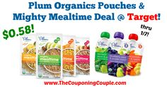 AWESOME SAVINGS! Be sure to print the coupons and head to Target this week for a quick deal! Plum Organics Pouches + Mighty Mealtime Deal @ Target!  Click the link below to get all of the details ► http://www.thecouponingcouple.com/plum-organics-pouches-mighty-mealtime-deal-target/ #Coupons #Couponing #CouponCommunity  Visit us at http://www.thecouponingcouple.com for more great posts!