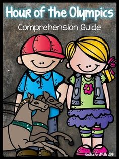 *January FREEBIE* Hour of the Olympics: Comprehension Guide {This comprehension packet goes along with the book Hour of the Olympics by Mary Pope Osborne. It is perfect for guided reading groups or whole group instruction! I have included higher level thinking questions as well as questions that require students to infer. The packet includes vocabulary words, making connections, visual images, word work, and so much more!!!}