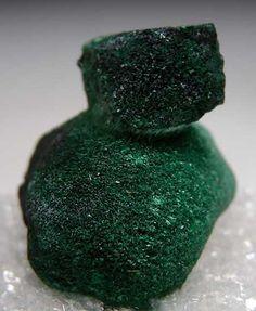 Malachite after Azurite