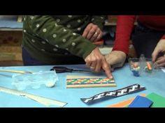 Como hacer Símil Mosaico con Goma E.V.A - YouTube